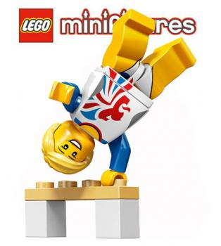 LEGO® Minifiguren  Team GB - 8909 - No 03 - Turnerin