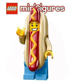 LEGO® Minifiguren Serie 13 - 71008 - Hot Dog Men