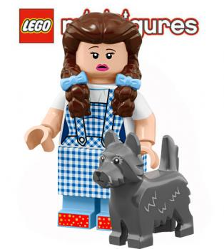 LEGO® Minifigures 71023 THE LEGO® MOVIE 2 Dorothy Gale & Toto NO 16