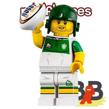 LEGO® Minifigures 71025 Serie 19 No 13 - Rugby Player
