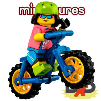 LEGO® Minifigures 71025 Serie 19 No 16 - Bicyclist