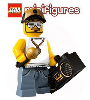 LEGO® Minifiguren  Serie 3 - 8803 - No 15 - Rapper
