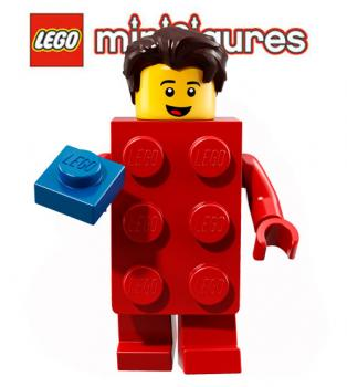 LEGO® Minifigures 71021 Serie 18 No 2 Red Suit Brick Guy