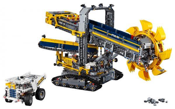 b b spielwaren lego technic 42055 schaufelradbagger. Black Bedroom Furniture Sets. Home Design Ideas
