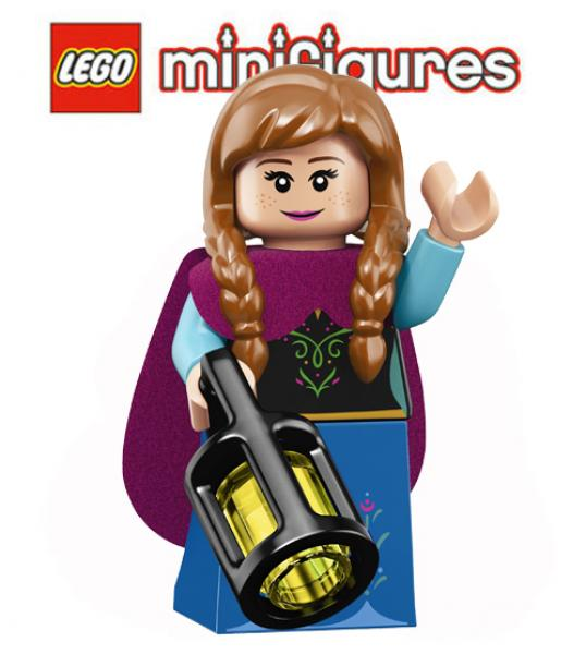 LEGO® Minifigures 71024 Disney Series 2  Anna No. 10