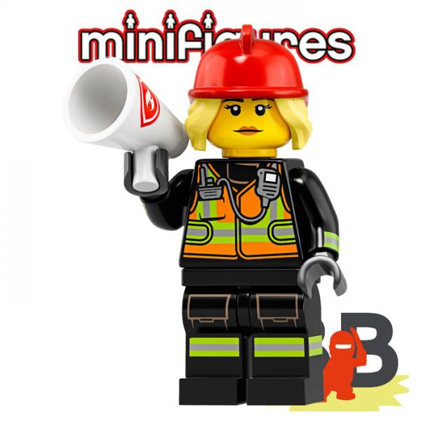 LEGO® Minifigures 71025 Serie 19 No 08 - Lady Fire Chief