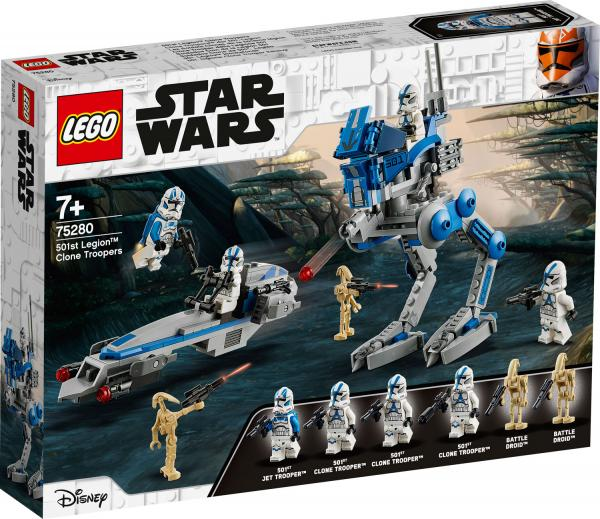 LEGO® Star Wars™ 75280 Clone Troopers™ der 501. Legion™