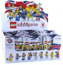 TEAM GB LEGO® MINIFIGURES - 8909 Thekendisplay (á 60 Tüten)